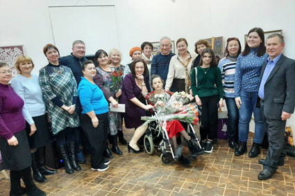 Presentation of the second collection of poems by Anna Lomakina -